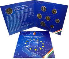 Ungarn 238 Forint 2004 PP KMS 1 Forint bis 100 Forint zum EU Beitritt im Folder