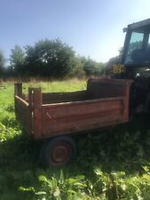 More details for tipping trailer suit compact tractor