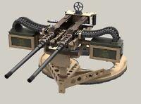 1/35 WW2 Warfare US Army Machine Gun Weapon Station High Quality Resin Kit