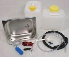 Wasseranlage Miniküche 325x265x150mm Campingküche Küchenblock Bausatz 12V Novo