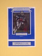 Legends Wine Label Cowboys Tony Dorsett MINT