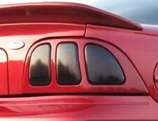 96-98 FORD MUSTANG SMOKE TAIL LIGHT PRECUT TINT COVER SMOKED OVERLAYS