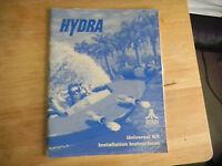 HYDRA KIT ATARI   arcade game manual