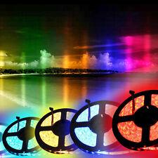 2M 5V 5050 RGB LED Strip Only Light Colour Lights  Changing TV Back Mood Lightin