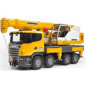 Bruder Scania Liebherr Crane 1:16 U03570