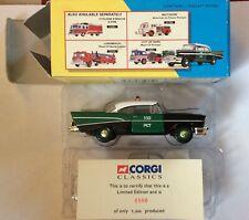 Corgi Classics : 51303 New York Police Dept Chevrolet Police Chief Lim/Edition