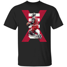 Men's Michael Jordan #23 Chicago Bulls Basketball 2020 Black T-shirt