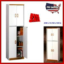 Kitchen Cabinets Pantry Liquor Kids Bedroom Storage Furniture White Made Simple