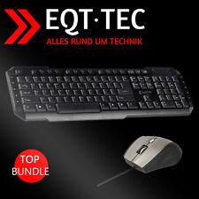 Multimedia / Gaming Maus & Tastatur Set USB Bundle Pc Computer Mouse Zubehör