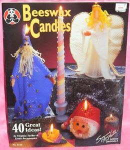 Design Originals Beeswax Candles Pattern Instruction Book 40 Great Ideas