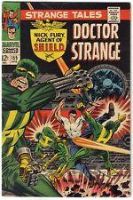 STRANGE TALES #155 UMAR CLEA 1967 Nick Fury S.H.I.E.L.D. Shield Dr. Doctor Movie