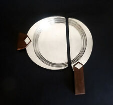 Rare Christofle 'Ondulations' by Luc Lanel Crumb Catcher & Sweeper  - Tableware
