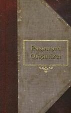 USED (LN) Password Organizer: A Password Organizer Journal (old book style cover