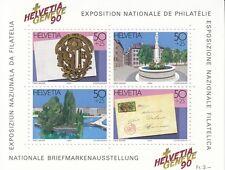 Schweiz Bl. 26** (1427-1430**) HELVETIA GENEVE`90