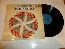 THE BEVERLEY SISTERS - The Enchanting - 1960 UK 12-track mono LP