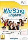 Nintendo Wii Spiel   We Sing Encore Englisch Mit Ovp
