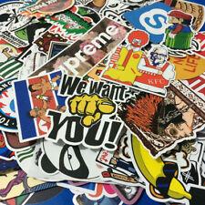 100 Pieces Random Stickers Skateboard Sticker Graffiti Laptop Car Luggage Decals