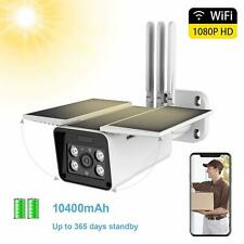 Roll over image to zoom in Solar Powered Outdoor Security Camera,1080P WiFi Cam