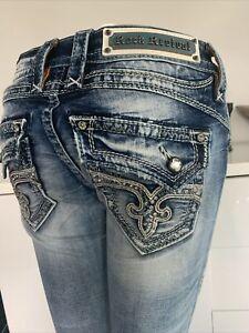 Rock Revival Damen Jeans Skinny Gr. 26 S 34 Neu Modell KAYLEY
