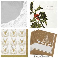 CHRISTMAS LUXURY NAPKINS - Christmas Dinner / Christmas Party