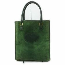 Gucci Tote Bag  Greens Suede Leather 1506959