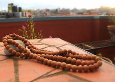 108 Beads (16mm) Bodhi Seed Natural Tibetan Prayer Mala, Nepal
