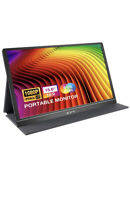 """15.6"""" Portable Monitor 1920x1080P HDR IPS Touch Screen Full-featured"""