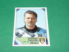 91 STEFANO TACCONI GENOA PANINI FOOTBALL CALCIATORI 1993-1994 CALCIO ITALIA