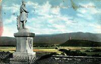 King Robert The Bruce Statue Stirling postcard antique Scotland Valentines