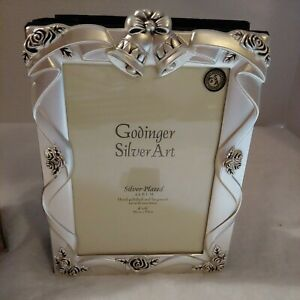 "Godinger Silver Plated Satin Finish Wedding Album 4x6"" Picture And 100- 4x6""..."