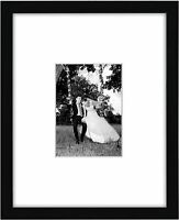 Americanflat Picture Frame 11 x 14 Black or White Wood Hanging Hardware Included