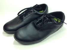 Drill Masters UNISEX Marching Band Shoes Rolled Heels Mens 9.5 Womens 11.5 Black
