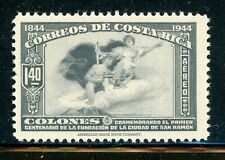 COSTA RICA MNH Selections: Scott #C100 1.40C Gray San Ramon Centenary CV$8++