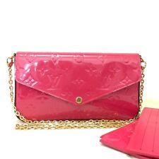 Louis Vuitton Monogram Vernis Pochette Felice Chain Wallet Shoulder Bag /11101