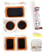 KMTSTYLE Kit de Reparación de pinchazos para Bicicletas