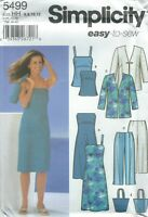 Simplicity 5499 Misses'/Miss Petite Ensemble   Sewing Pattern