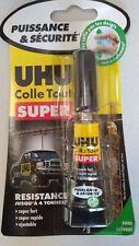Lot de 144 tubes UHU colle tout super sans solvant 7g