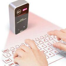Teclado virtual de proyección láser Bluetooth para teléfono inteligente, tableta