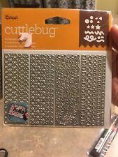 Cricut Cuttlebug Celebration Confetti Cut & Emboss Die Set Birthday Graduation