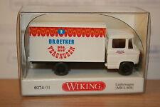 Wiking 027401, MB L 608 Lieferwagen, Dr. Oetker Eis, neu, OVP, Mercedes