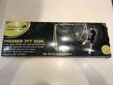 Kickmaster 7 x 5ft Kids Children's Junior large Football Goal with net