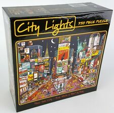 CEACO® 750pc CITY LIGHTS • NEW YORK CITY by ROXY • PUZZLE Jig Saw USA MADE