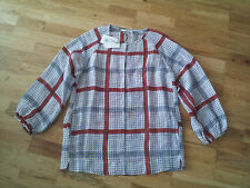 BNWT Isabel Marant Rowan linen&silk-blend Blouse Top Sz38 £225