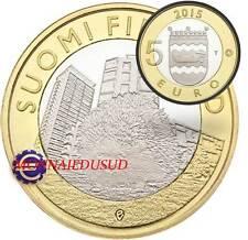 5 Euro Commémorative Finlande 2015 - Province Uusimaa