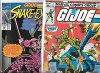 G.I. Joe #1 & #141   Lot of 2 (June 1982, Marvel Comics )