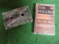 Cassette: THE HOLLIES The singles A's & B's 1970-1979 1970's POP