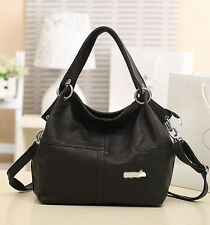 Women PU Leather Tote Shoulder Bags Handbags Satchel Messenger Bag Purse Fashion