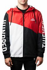 100 Thieves Tri-Color Zip Windbreaker Men Size 4Xl New 100% Authentic