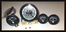ford tractor tachometer temperature oil amp gauge fit 8N 9N 2N black bezel