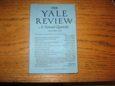 1949 Yale Review Ceylon, Chinese Commies, Palestine Refugees, Hubert Creekmore